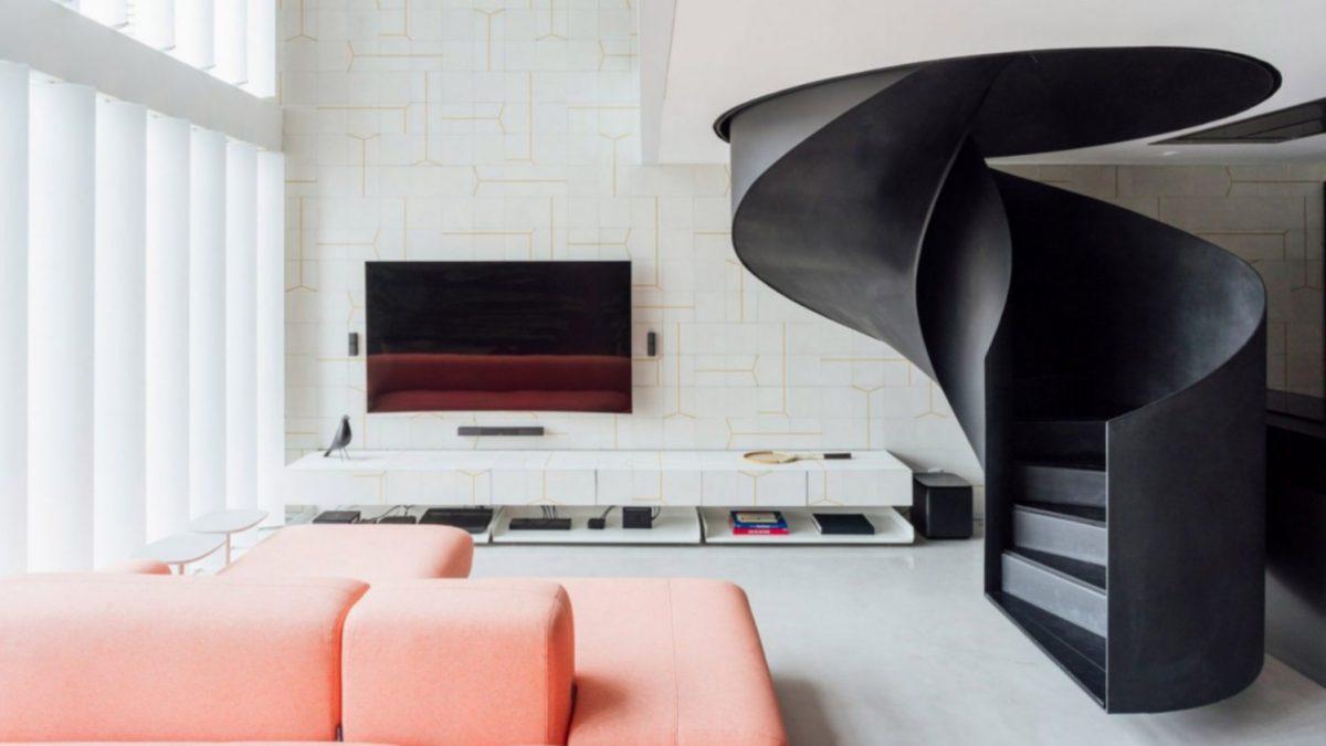 Spiralne stepenice u ovom stanu <b>lebde iznad poda</b>