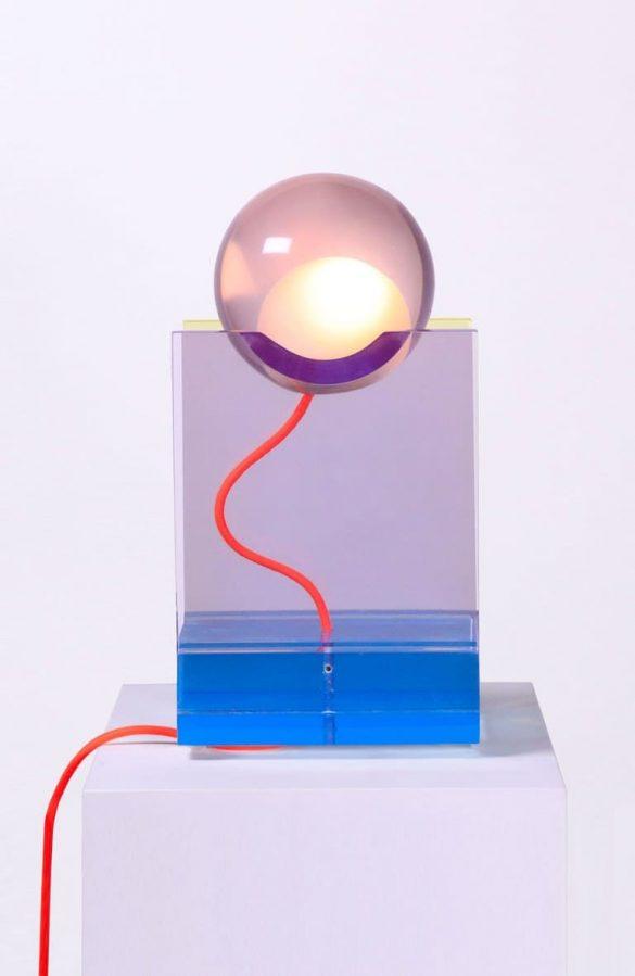 Ronda lampa verzija u plavoj boji, fotografija: Dan Rocha
