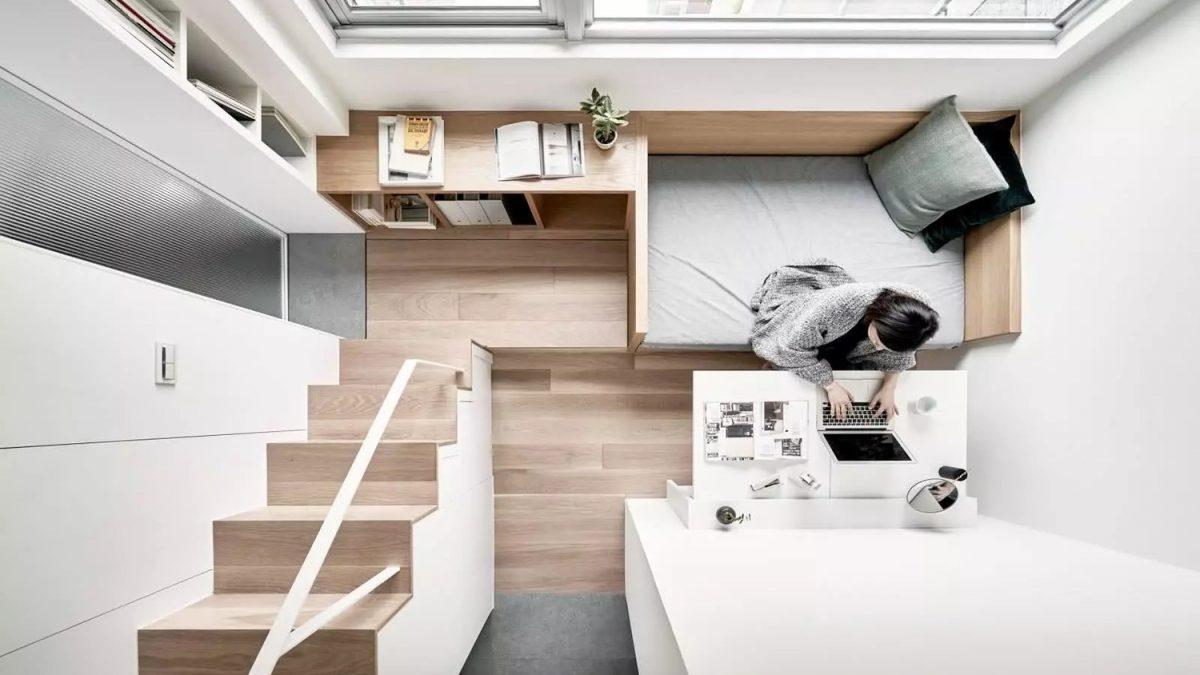 Zavirite u <b>mini apartman</b> gde je svaki <b>kutak</b> maksimalno iskorišćen