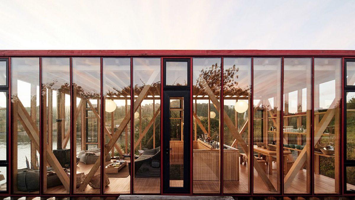 Kako je <b>kuća za čamce</b> pretvorena u <b>kutak za odmor</b>