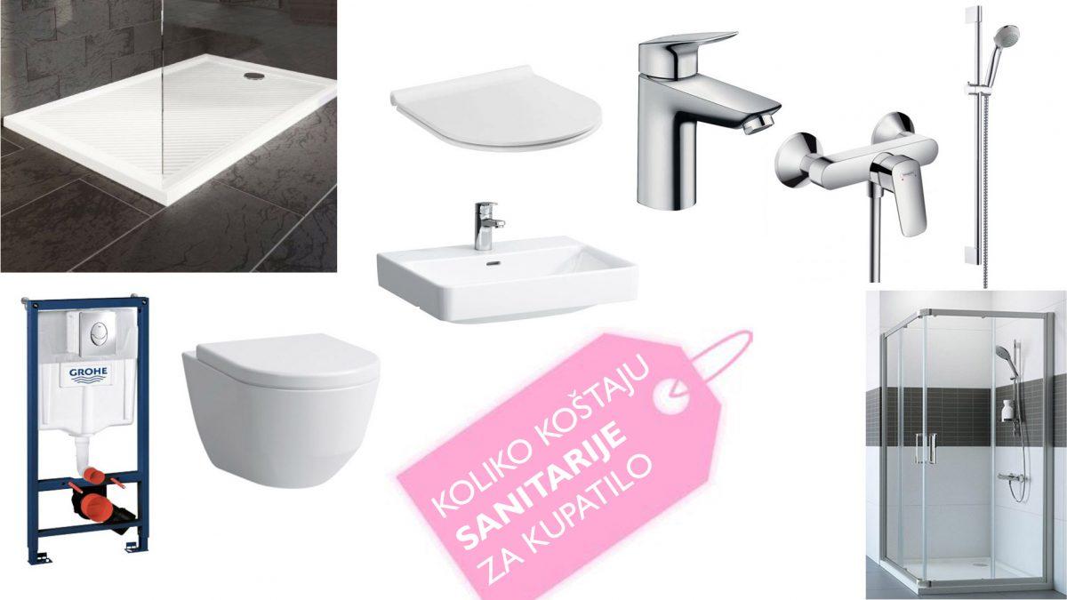 Od <b>najpovoljnijeg</b> do <b>najskupljeg:</b> Koliko koštaju <b>sanitarije za kupatilo</b>